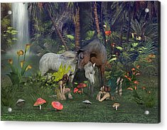 All Dreams Are Possible Acrylic Print by Betsy C Knapp