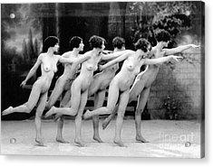 Allen: Chorus Line, 1920 Acrylic Print by Granger