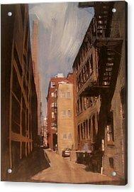 Alley Series 1 Acrylic Print by Anita Burgermeister