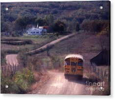 Almost Home Acrylic Print by Garry McMichael