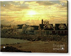 Acrylic Print featuring the photograph Along The Shores by Joel Witmeyer