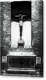 Alter Of Sacrifice Acrylic Print by John Rizzuto