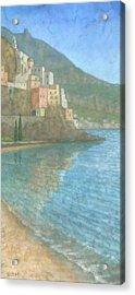 Amalfi Acrylic Print by Steve Mitchell