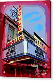 Amateur Night At The Apollo Acrylic Print by Ed Weidman