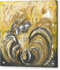 Amber Is The Color Of Your Energy Acrylic Print by Ania M Milo