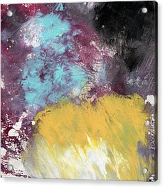 Ambrosia 5- Abstract Art By Linda Woods Acrylic Print by Linda Woods