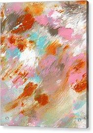 Ambrosia- Abstract Art By Linda Woods Acrylic Print by Linda Woods