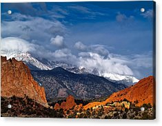 America The Beautiful Acrylic Print by Tim Reaves