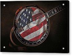 American Bluegrass Music Acrylic Print by Tom Mc Nemar