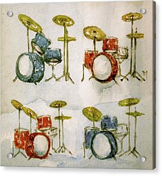 American Drums Acrylic Print by Pete Maier