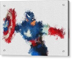 American Hero 2 Acrylic Print by Miranda Sether