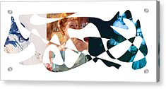 American Intellectual 3 Acrylic Print by David Bridburg