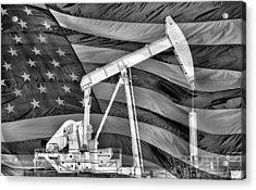 American Oil Acrylic Print by JC Findley
