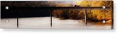 Amish Autumn In The Villages Of Van Buren Acrylic Print by Leslie Heemsbergen