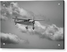 Among The Clouds Acrylic Print by Guy Whiteley