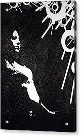 Amy Acrylic Print by Erik Paul