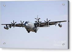 An Ec-130j Commando Solo Aircraft Acrylic Print by Stocktrek Images