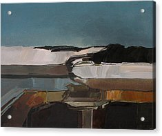 Anasazi Winter Acrylic Print by Curtis Chapline