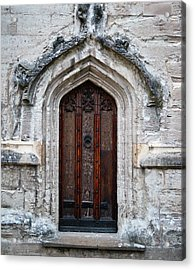 Ancient Door Acrylic Print by Douglas Barnett