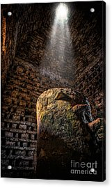 Ancient Dovecote Acrylic Print by Adrian Evans