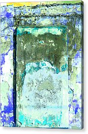 Ancient Wall 2 By Michael Fitzpatrick Acrylic Print by Mexicolors Art Photography