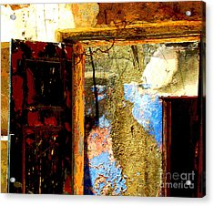 Ancient Wall 3 By Michael Fitzpatrick Acrylic Print by Mexicolors Art Photography