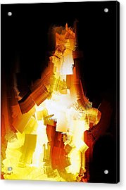 And The Angel Said Do Not Fear Acrylic Print by Michael Durst