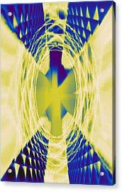 Angel Acrylic Print by DB Artist
