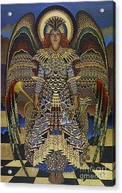 Angel Acrylic Print by Jane Whiting Chrzanoska