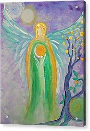 Angel Of Acceptance Acrylic Print by Alma Yamazaki