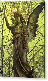 Angel Of Bless No. 01 Acrylic Print by Ramon Labusch