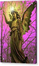 Angel Of Bless No. 02 Acrylic Print by Ramon Labusch