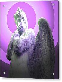 Angel Of Youth No. 02 Acrylic Print by Ramon Labusch