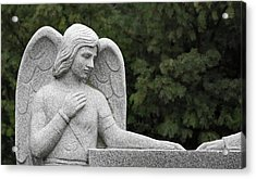 Angel Watching Over Me Acrylic Print by Dale Kincaid