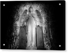 Angel Watching Over You Acrylic Print by David Pyatt
