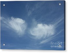 Angel Wings In The Sky Acrylic Print by Carol Groenen