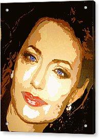 Angelina Acrylic Print by Richard La Valle