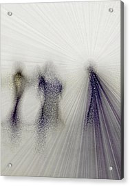 Angels Among Us Acrylic Print by Rose  Hill