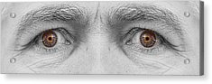 Angry Eyes Acrylic Print by James BO  Insogna
