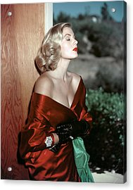 Anita Ekberg, 1950s Acrylic Print by Everett