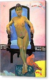 Annah The Javanese Acrylic Print by Paul Gauguin