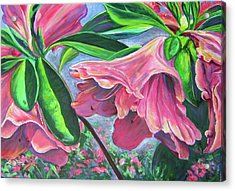 Announcement Of Spring Acrylic Print by Lee Nixon
