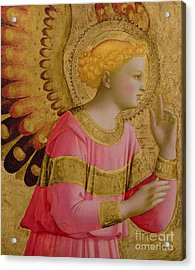Annunciatory Angel Acrylic Print by Fra Angelico