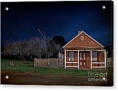 Another Aussie Night Acrylic Print by Russ Brown