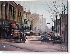 Another Day In Fond Du Lac Acrylic Print by Ryan Radke