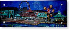 Another Memory Of The Palace Acrylic Print by Patricia Arroyo