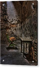 Another One Bites The Dust Acrylic Print by Evelina Kremsdorf