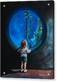 Another World Acrylic Print by Bob Northway