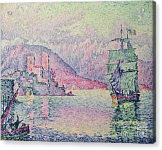 Antibes Acrylic Print by Paul Signac
