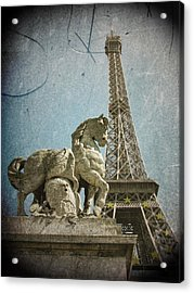 Antiquation Acrylic Print by Andrew Paranavitana